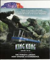 Hollywood Los Angeles Universal Studios / Brochure New Transformers / Gorille King Kong / Desperate Housewives - Amérique Du Nord