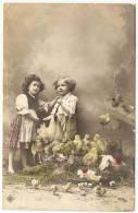 ENFANTS  Avec   Poule Et Poussins - Abbildungen