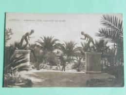 CORFOU - ACHILLEION ( Villa Impériale), Le Jardin - Grecia