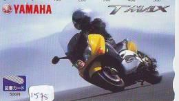 Télécarte Japon * MOTOR  * (1578)  Phonecard Japan * TELEFONKARTE * MOTORBIKE * YAMAHA - Moto