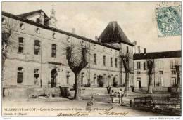 47-VILLENEUVE-sur-LOT- Colonie  Correctionnelle D´Eysses-Précurseur Dos 1900 - Villeneuve Sur Lot