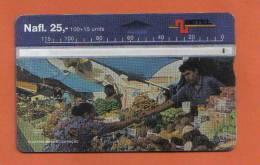 CURACAO - (  NETHERLANDS ANTILLES ) BACK NUMBER - 804A57948 - Antilles (Netherlands)
