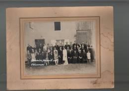 Très Belle Photographie Format 170 X 20 Mm Du 25/09/1928 Verrières, Marne - POUSSY Sermaize-les-Bains - Personnes Identifiées