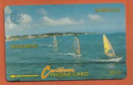BARBADOS  - 1995 PHONECARD BACK NUMBER - 15CBDAO26958 - Barbados