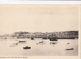 BR44478 Chicoutimi P Q Pont Ste Anne Bridge    2 Scans - Chicoutimi