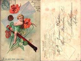 Enfant Fantaisie 1900 - 42  Enfant Gaufrée Embossed - Children's Drawings