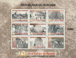 bur10103a Burundi 2010 Arts & Culture s/s