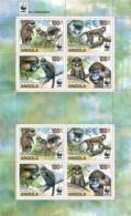 ang11102a Angola 2011 WWF monkey 2 m/s