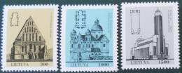 EGLISES 1993 - NEUFS ** - YT 445/47 - MI 511/13 - Lithuania