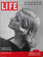 Magazine LIFE - FEBUARY 25 , 1952 -  INTERNATIONAL EDITION          (3001) - Nouvelles/ Affaires Courantes