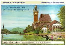 2 Cartes D´entrée De Bourse Aux Colletions - 80 - Moreuil 1999 Et  Abbeville 1999 - France