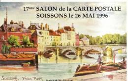 2 Cartes D´entrée De Bourse Aux Colletions - 60 Soissons 1996 Et Beauvais 2000 - France