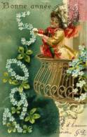 BONNE ANNEE 1905....CPA GAUFREE - Anno Nuovo
