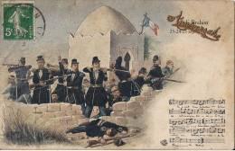 SIDI BRAHIM 23 24 25 SEPTEMBRE 1845  AVEC INCRUSTATION ANNIVERSAIRE - Patriotiques