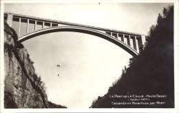 74 - PONT DE LA CAILLE - Haute-Savoie - Hauteur 147 - Descente En Parachute Par Monti - France