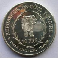 COSTA DE MARFIL 10 FRANCS 1966 - Ivory Coast