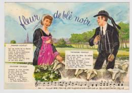 FLEUR DE BLE NOIR PAR THODORE BOTREL - N° 4 - CARTE NON VOYAGEE - France