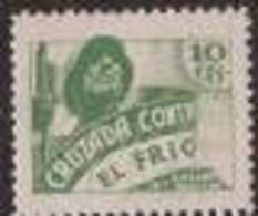 CCF25-LM54TAN.Spain.Espane .BENEFICENCIA.CRUZADA CONTRA EL FRIO.1936.(Galvez 25s**) Sinn Charnela .MUY BONITOS.RAROS - 1931-Hoy: 2ª República - ... Juan Carlos I
