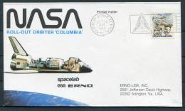 1980 USA Spacelab ESA Columbia Orbiter Cover - Kenndy Space Centre - Covers & Documents