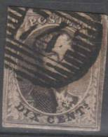 6 Obl 74 Lierre (+250)  4 Marges - 1849 Epaulettes