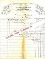 Facture De 1840 - BRUXELLES - Prosper LELOUTRE De PARIS - Fournitures De Bureaux-plumes Métalliques De Cuthebert... - Belgique