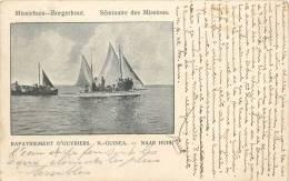 Réf : A -13- 1455 :  Missiehuis Borgertout Séminaire Des Oeuvres  Missions  Rapatriement De Nouvelle Guinée Naar Huis - Papouasie-Nouvelle-Guinée