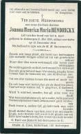Hendrickx  Antwerpen 1899 -1918 - Religion & Esotericism