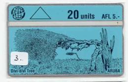 ARUBA (3) Télécarte  Landis&Gyr - Aruba