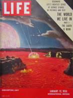 Magazine LIFE - JANUARY 12 , 1953 -  INTERNATIONAL EDITION    (3007) - Nouvelles/ Affaires Courantes