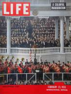 Magazine LIFE - FEBUARY 23 , 1953 -  INTERNATIONAL EDITION       (3008) - Nouvelles/ Affaires Courantes