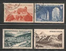 FRANCE - 1949 -  Yvert # 841A / 843 - USED - France