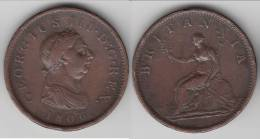 **** GRANDE-BRETAGNE - GREAT-BRITAIN - 1 PENNY 1806 GEORGE III **** EN ACHAT IMMEDIAT !!! - C. 1 Penny