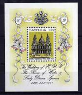 Barbuda - 1981 - Royal Wedding Miniature Sheet (1st Issue) - MH - Antigua & Barbuda (...-1981)