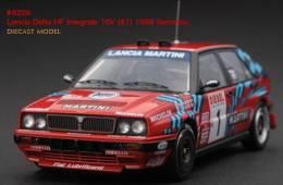 Lancia Delta HF Integrale 16V - Miki Biasion/Siveiro - San Rémo 1989 #1 - HPI-Racing - HPI-Racing