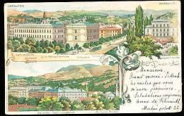 BOSNIE HERZEGOVINE SARAJEVO / Gymnasium, Kath. Domkirche / - Bosnie-Herzegovine