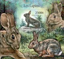 cm11124b Comores 2011 Rabbits s/s