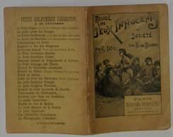 Recueil De Jeux Innocents De Société B. De Bliqui - Livres, BD, Revues