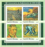 Gb3119 Guinea Bissau 2003 150th Anniv. Naissance De Van Gogh S/s - Impressionisme