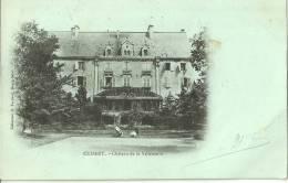 Cuisery Chateau De La Villeneuve 1902 Scan Recto Verso - Other Municipalities