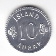 @Y@  IJSLAND  / ISLAND  10 Aurar  1970   UNC  (C595) - Islande