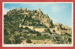 Cyprus -  KYRENIA - Saint Hilarion Castle - 2 Scans - Chypre