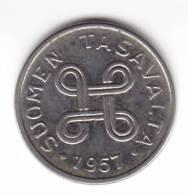 @Y@  FINLAND  / SUOMEN  1 Markka  1957   UNC  (C604) - Finlande