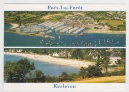 PORT LA FORET - KERLEVEN - MULTIVUES - CARTE NEUVE - Frankreich