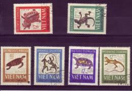Viet Nam Du Nord YV 488/3 O 1965 Reptiles - Non Classés