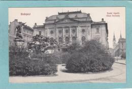 BUDAPEST.  -  Budai  Vigado.  -  Ofner  Redoute.  - TRES BELLE CARTE   - - Hungary