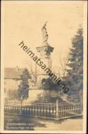 Loewenberg - Germania-Platz Mit Siegesdenkmal 1870-71 - Schlesien