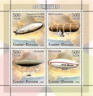 gb6113a Guinea Bissau 2006 Dirigables zeppelins s/s