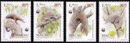 Macau / WWF / Animals / Pangolin - Used Stamps