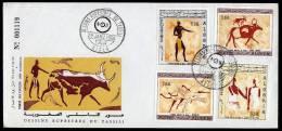 Algeria 1966 FDC Rock Painting - Archeologia
