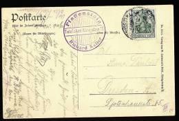 A1448) DR Karte Vom Pfaffenstein Bei Königstein / Elbe 19.6.1911 Mit Gasthofstempel ! - Deutschland